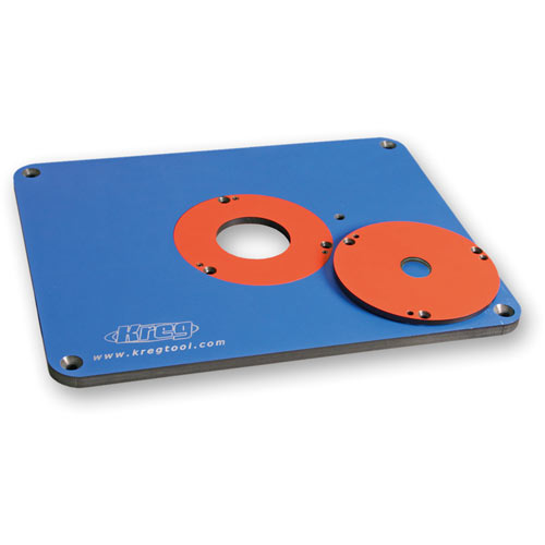 Kreg precision router table insert plate greentooth